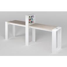 """Двухместный стол маникюрный с подставкой для лаков """"Matrix"""""""